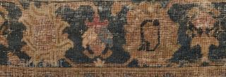 17th Century Ispahan Fragment size 130x165 cm