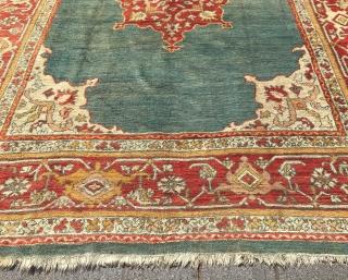 Ushak Carpet circa 1920 size 316x392 cm perfect condition