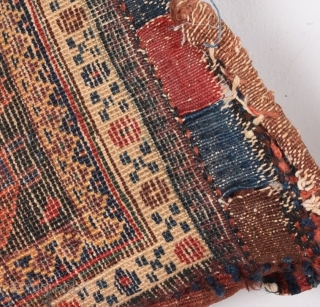 19th Century Persian Afsharor Baluch?  Bag size 30x34 cm