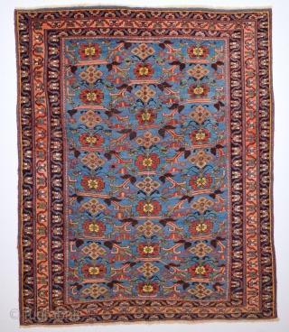 Gorgeous Afshar Rug circa 1870-80 size 141x172 cm