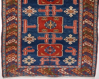 19th Century Shirvan Karagashli Rug size 115x150 cm Perfect Condition