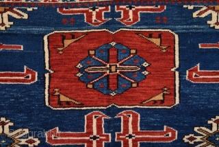 19th Century Shirvan Karagashli Rug size 115x150 cm Perfect Condition