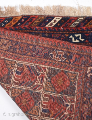 Late 19th Century Afshar Bag size 75x75 cm