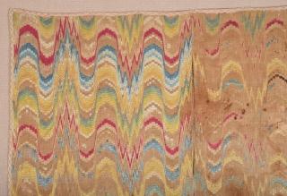 Europan French Textile circa 1800 size 145x172 cm
