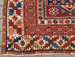 West Anatolian Bergama Rug circa 1800 size 160x185 cm