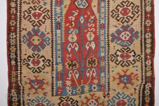 Mid 19th Century Erzurum Prayer Kilim size 118x172 cm