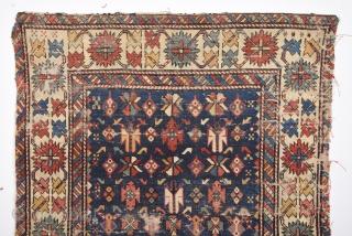 Late 19th Century Shirvan Rug size 100x123 cm
