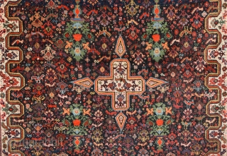 19th Century Khamseh Rug size 142x185 cm