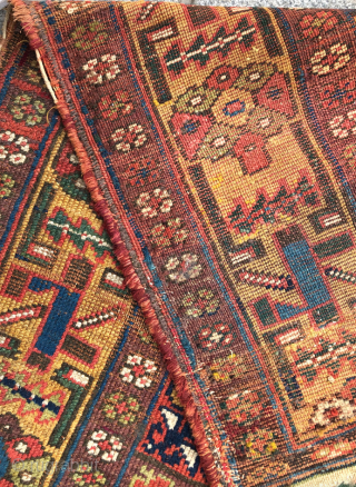 Mid 19th Century NW Persian Rug size 142x217 cm