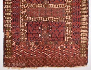 Mid 19th Century Tekke Engsi size 121x141 cm
