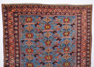 19th Century Afshar Rug size 141x172 cm