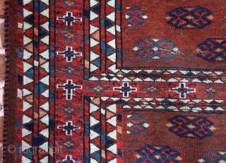 Early 19th Century Yomud Engsi 135x176 cm
