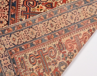 Late 19th Century Shirvan Perepedil Rug size 105x120 cm