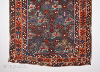 Mid 19th Century Bergama Rug size 120x145 cm