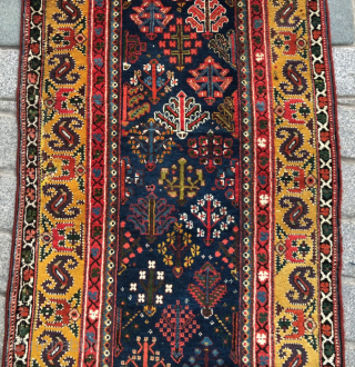 NW Persian Rug circa 1830-50 size 90x480 cm