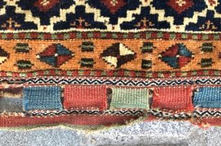 Persian Bag circa 1870 size 44x64 cm