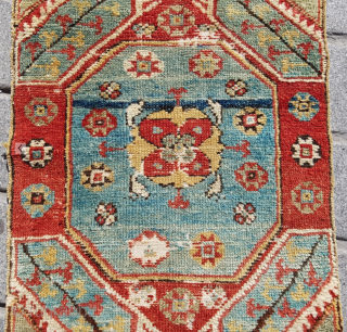 West Anatolian Yuntdag Yastik circa 1850 size 50x90 cm