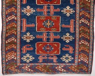 Late 19th Century Shirvan Karagashli Rug size 116x152 cm