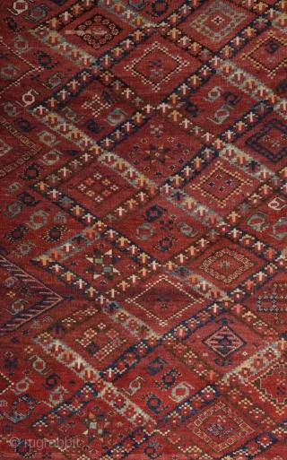 Turkmen Beshir Carpet circa 1870 size 167x305 cm
