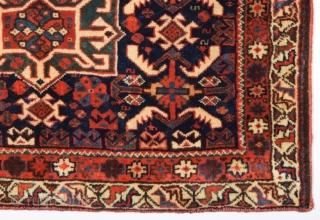 Very Fine Qashqai Bag Face circa 1880 size 46×70 cm