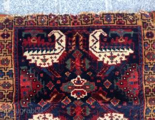 Lovely Kurdish? Bag Face circa 1860 size 52x54 cm