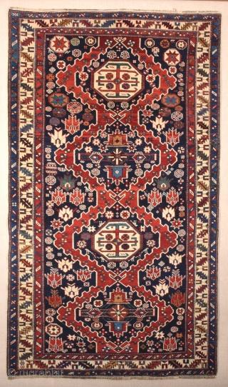 Shirvan Rug circa 1880 size 118x202 cm