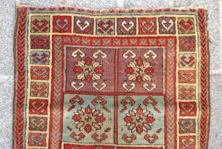 East Anatolian Sivas Yastik circa 1850 size 60x90 cm