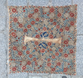 18th Century Lovely Greek Embroidery size 50x50 cm