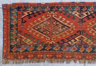 Turkmen Ersari Torba circa 1840-50 size 42x110 cm