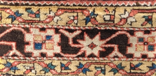 Early 19th Century West Anatolian Bergama Fragment size 52x56 cm
