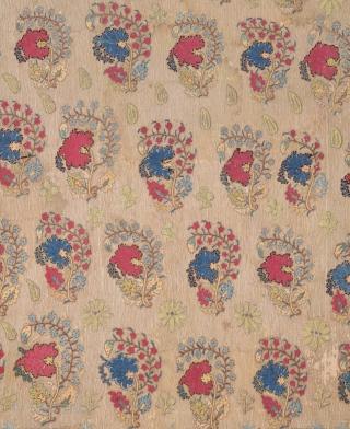 18th Century Ottoman Embroidery size 132x216 cm