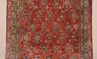Late 19th Century Qashqai Rug size 117x165 cm
