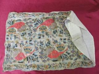Ottoman Embroidery circa 1800 size 32x49 cm