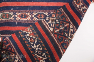 Early 19th Century Yüncü Cuval size 64x107 cm