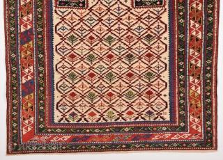Very Fine Shirvan Prayer Rug circa 1870 size 117x130 cm Perfect Condition