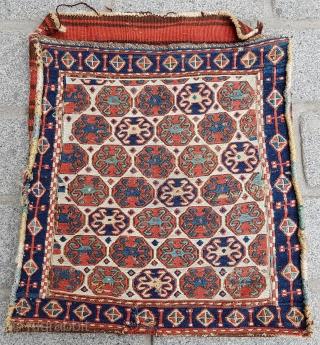 Shahsavan Sumak Bag circa 1880 size 52x53 cm