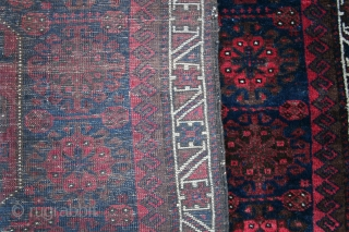 ca.1880 Baluch Bagface,.silky wool ,Natural colour,.size:70x88 cm 2.3x2.9 ft
