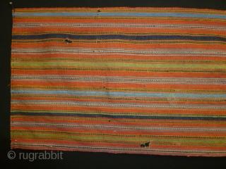 ca.1850 Shahsavan Jajim fragment,.size:24x173 cm
