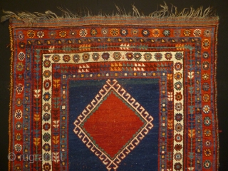 ca.1900 wonderful Kashgai rug,,all natural colour,,size:240x130 cm 7.9x4.2 ft