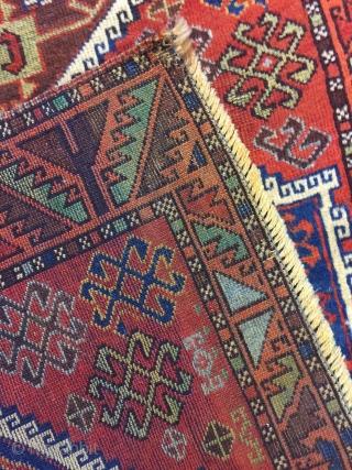 East Anatolian probably Malatya Yoruk Rug size: 215 x 90