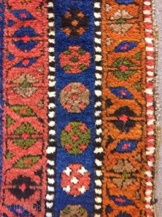 Persian Sanjabi Rug good pile 210 x 110 cm