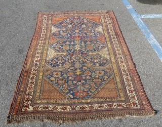 QASHQAI aria Khamseh 1880 circa,good connection no repair all natural colors,size 210x140cm
