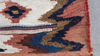 SW Persia Sofreh (Luri)1900 circa the white color all in cotton.size 107x93cm