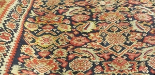 senneh kilim very fine quality 1870 circa size 190x130cm