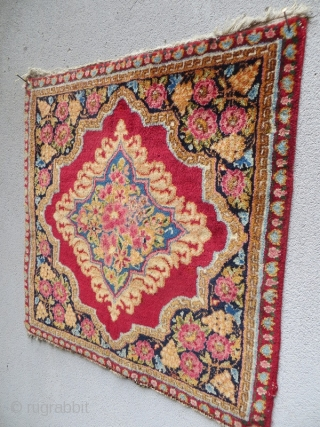 old kerman laver all good colors and very good condition size 55x55cm