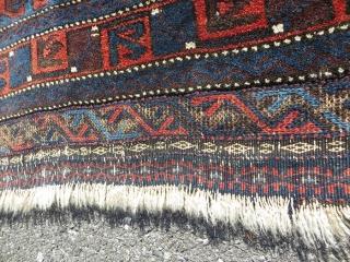 Baluch bagface 1880 circa-75x75cm