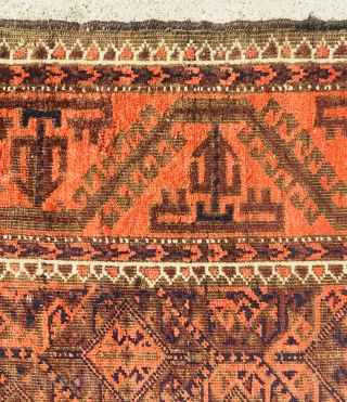 Baluch rug no repair,original edges,size 180x108cm