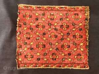 antique Macedonians embroidery,size 30x27cm