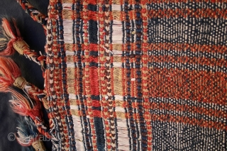 qashqai flatweave horse cover 1890 circa all natural colors and very good condition size 150x150cm