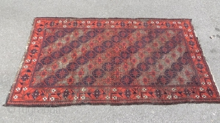 baluch rug 1880 circa one of the best quality size 180x105cm